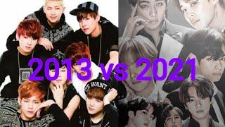 BTS EVOLUTION 2013 vs 2021