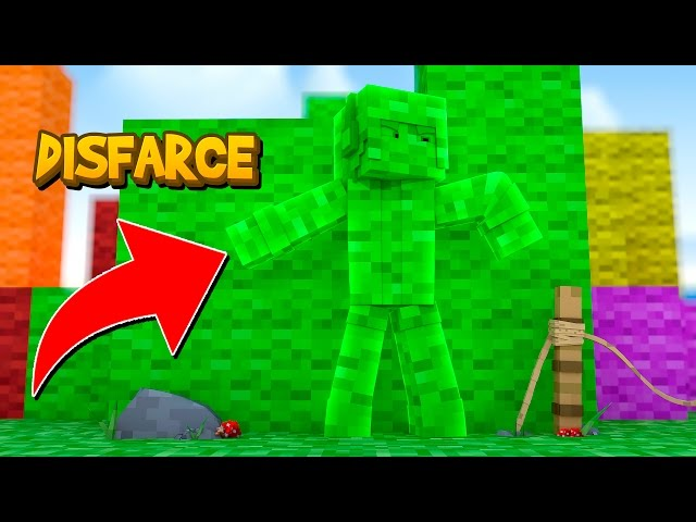 Minecraft: DISFARCE DE LÃ - (Esconde-Esconde)