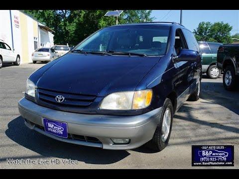 Toyota Sienna XLE YouTube - 2001 sienna