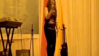 Sumandak Kinabalu, singing performance by Ibranly at Cosmopoint KK Convocation 2013