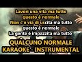 Download Fabri Fibra ft. Marracash: QUALCUNO NORMALE (Karaoke - Instrumental) MP3 song and Music Video