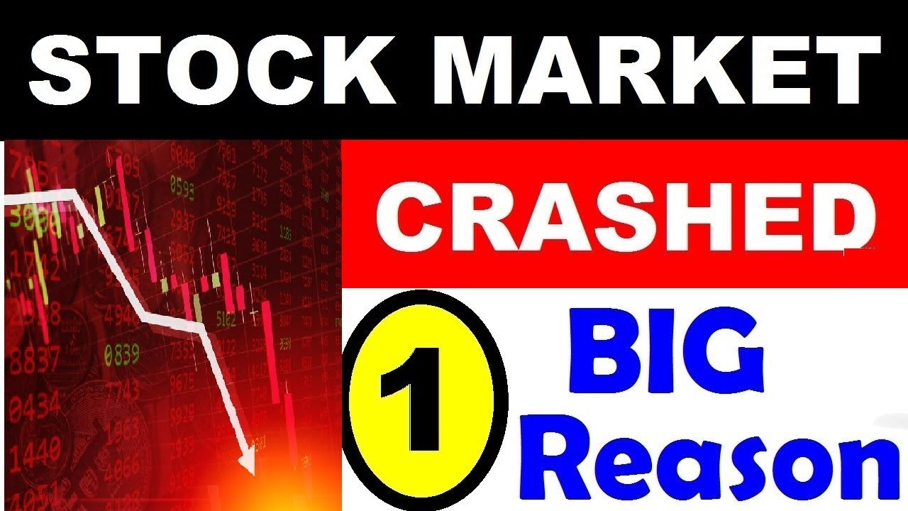 STOCK MARKET CRASHED सिर्फ 1 बड़ा कारण ⚫ Why SENSEX NIFTY DOWN TODAY⚫WHY STOCK MARKET FALL TODAY⚫SMKC