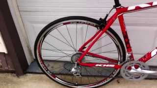 My New 2012 KHS Flite 300 Road Bike