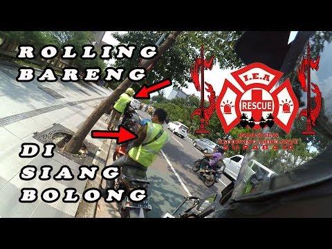 IEA Surabaya Escorting an Ambulance #2 | Rolling di siang bolong
