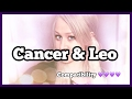 Cancer & Leo // Compatibility