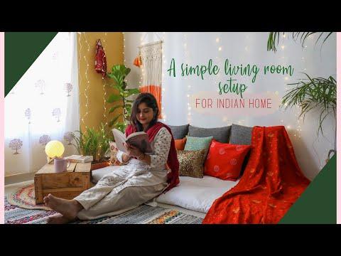 Living Room Setup In Budget Floor Seating Interior Maata Youtube