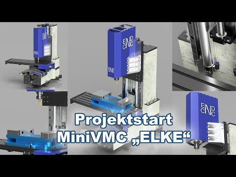 "Projektstart MiniVMC/BAZ ""Elke"" aus Beton (MiniVMC Part 1)"