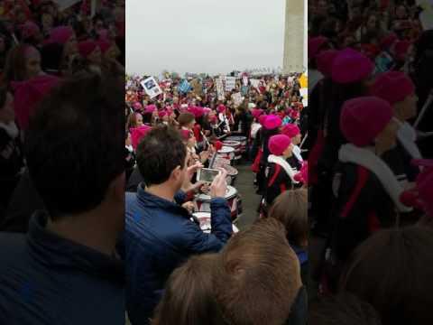 The D.C.Women's March Drums Corp