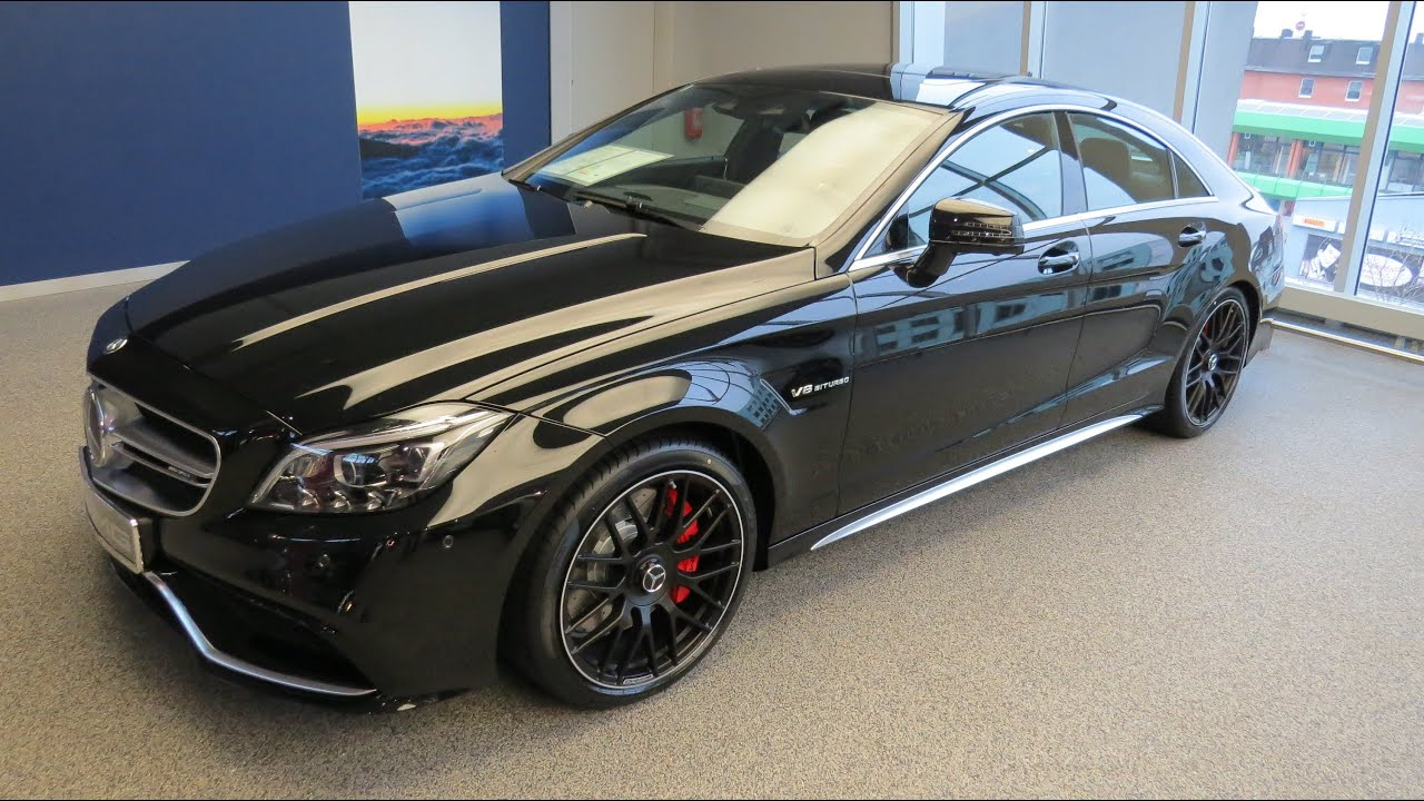 2015 mercedes benz cls63 amg v8 biturbo youtube