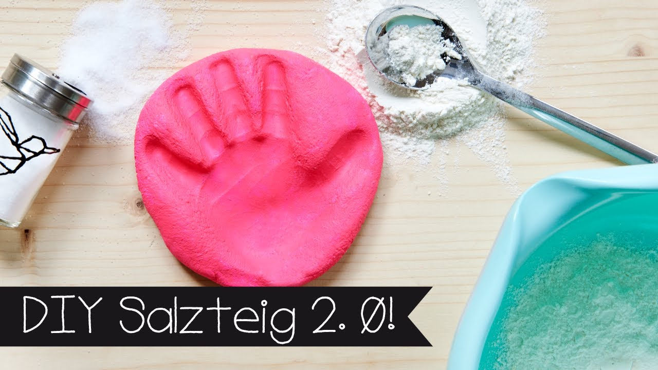 Weihnachtsbasteln Salzteig.Diy Salzteig 2 0 Handabdruck Fußabdruck Erinnerung I Basteln