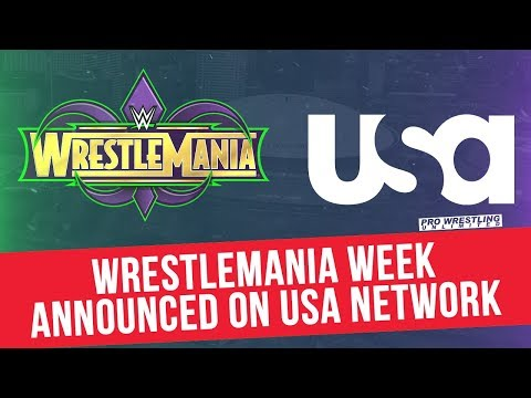 WrestleMania Week Announced On The USA Network