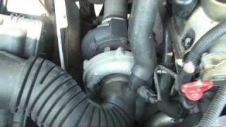 2005 Dodge-Mercedes-Benz Sprinter 2.7L CDI Engine Looses Power, Bad Turbo Actuator.wmv