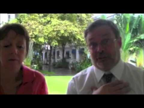 A couple talk about their experiences teaching at Harrow, Bangkok.