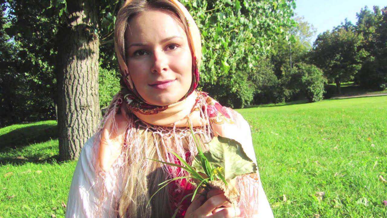 Русский народный стиль в одежде набирает популярность - YouTube