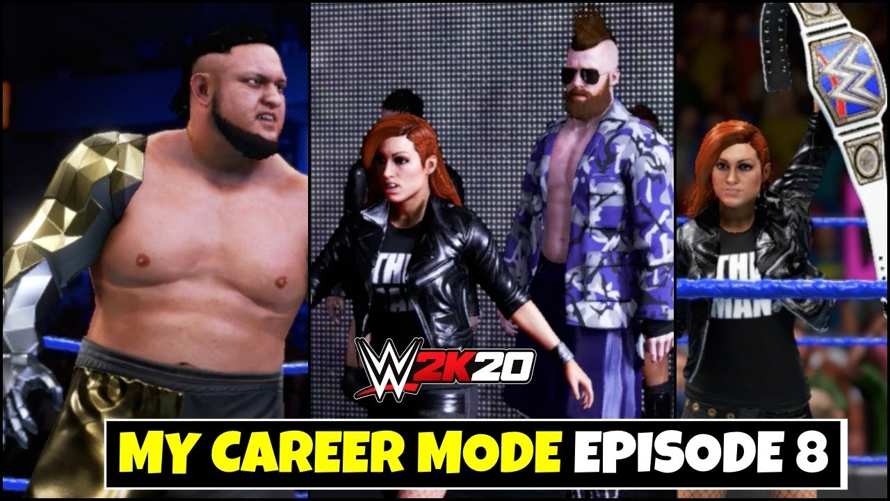 WWE 2K20 My CAREER MODE Ep.8 | Becky Lynch & Her Team WWE 2K20 ! EPISODE 8