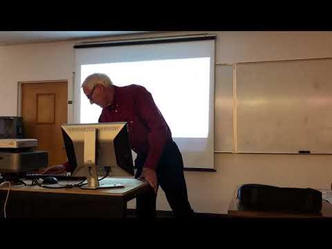 GEOS Seminar Series: Dr. Howard Stensrud