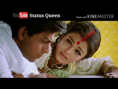Aishwarya Rai 💖 Shahrukh Khan 💖 Devdas Movie Dialog 💕 Whatsapp Status Video