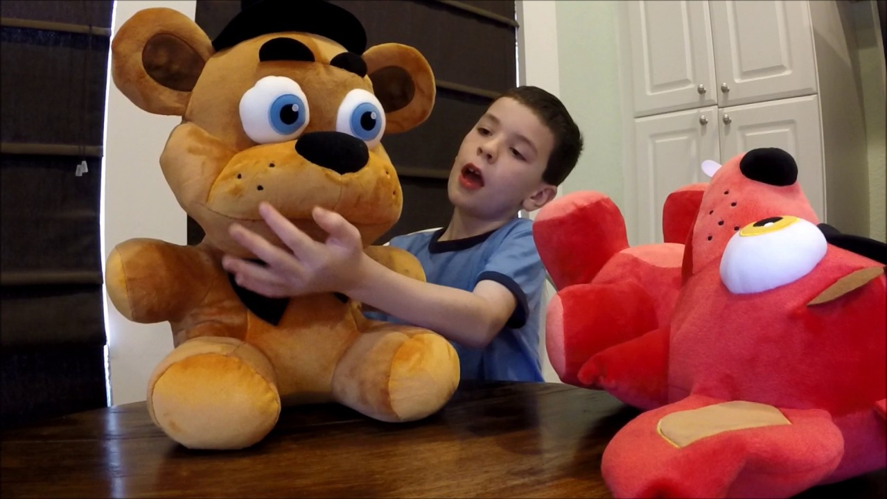 How to make your own five nights at freddys foxy plush - Five Nights At Freddy S Freddy And Foxy Large Plushies