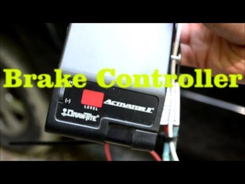 Trailer Brake Controller Installation 2000 Escalade Tahoe Yukon