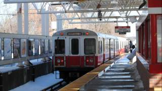HD MBTA Red Line New Vs. Old