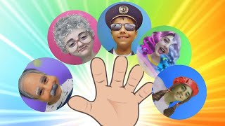 Finger Family Song ( Daddy Finger ) Grandma Version and More Kids Songs By Guka Family Show