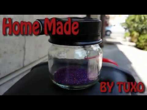 Dosatore Glitter (FLAKE BUSTER METAL FLAKE DRY SPRAY GUN)