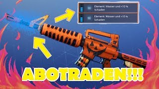 💦ABOTRADEN + TOTENGRÄBER WATER💦 - 🌟 FREE weapons for every 🌟 !!! Fortnite Save the World