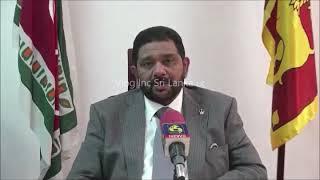 Governor Azath Sally Regarding Transfer of Teachers at Puwakpitiya Maha Vidayalaya