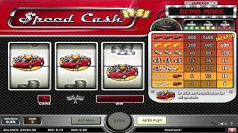 Free Speed Cash slot machine by Play'n Go gameplay ★ SlotsUp
