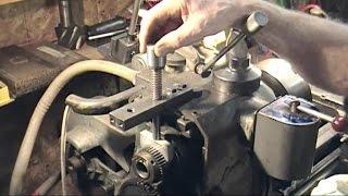 Lathe spindle brake project - poor result