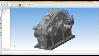 Компас 3D уроки - сборка редуктора