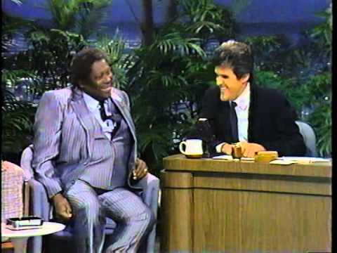 BB KIng on Tonight Show 1988