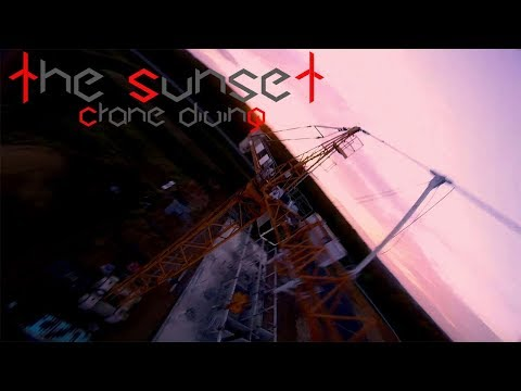 THE SUNSET  CRANE DIVING