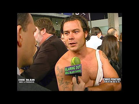 Jackass: Chris Pontius & Eric Blair @ Jackass: The Movie Premiere 2002