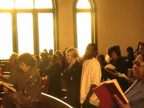 SELMA TO MONTGOMERY-PART 3-IN THE CHURCH.