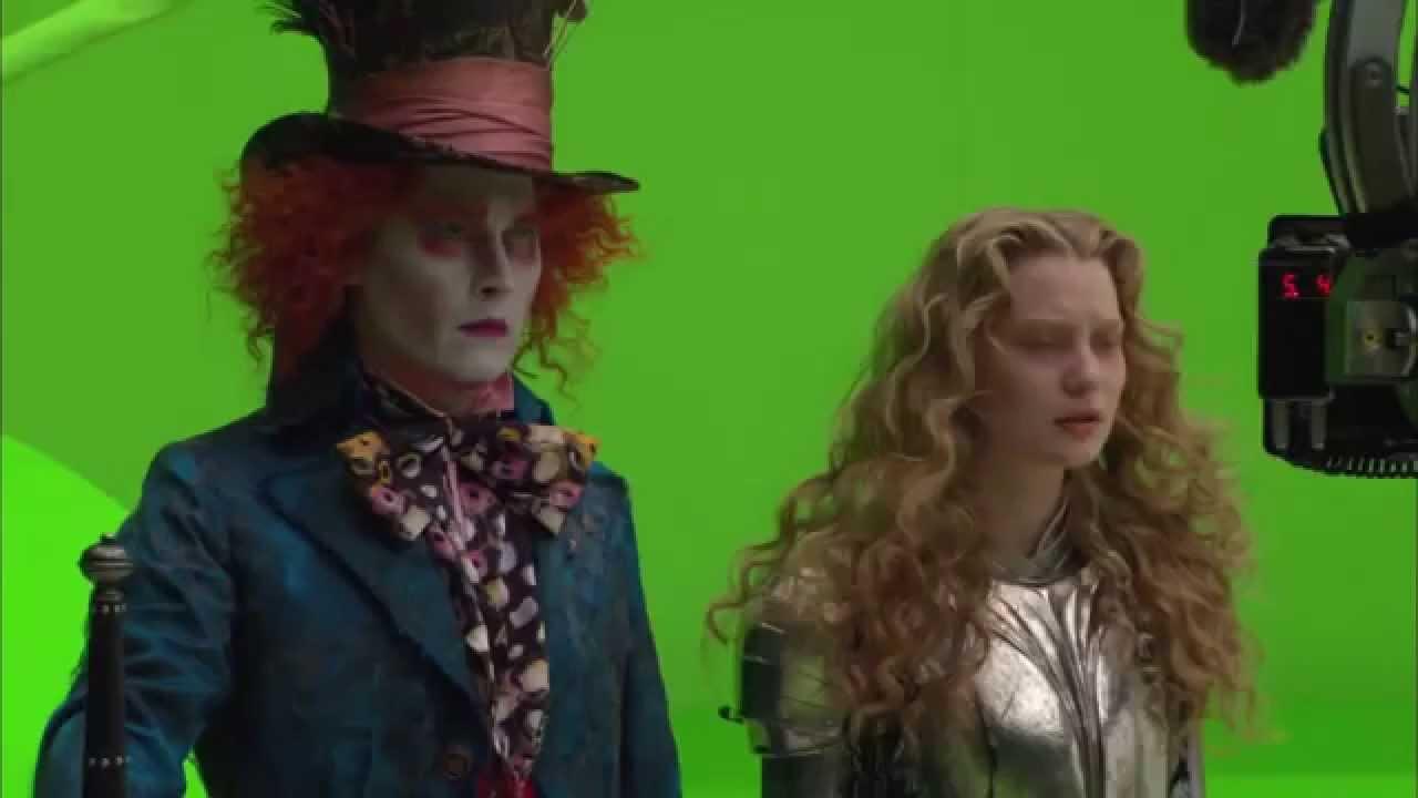 Johnny Depp the Mad Hatter in Alice in Wonderland