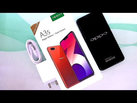 Oppo A3s 3/32 unboxing and overview - YouTube