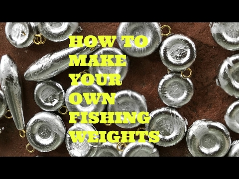 How To Make Easy Fishing Weights