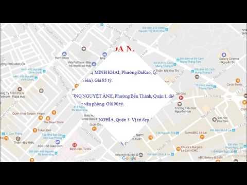 Bán nhà mặt tiền 99 Sương Nguyệt Ánh, P.Bến Thành, Quận 1 - bannhatrieudo.com - 09.0246.3210