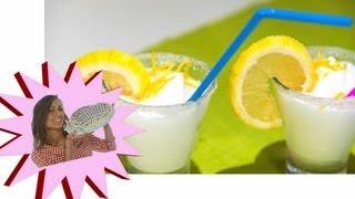 Sorbetto al limone e sambuco - Le Ricette di Alice