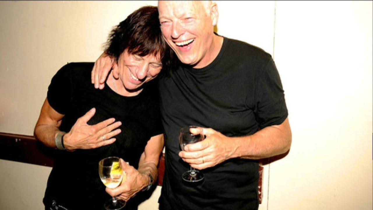 Jeff Beck David Gilmour Pink Floyd Jerusalem Royal Albert Hall 2009 Youtube