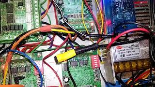 Блок электроники хоббийного станка с ЧПУ (CNC)