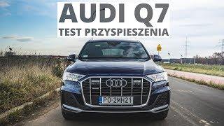 Audi Q7 3.0 50 TDI 286 KM (AT) - acceleration 0-100 km/h