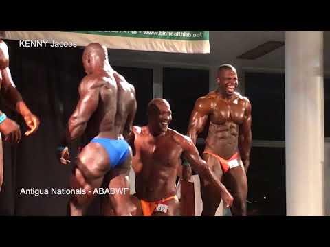2017 ABABWF Body Building Highlights - Antigua