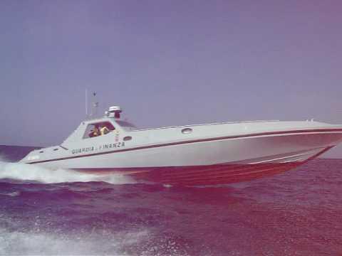 Super Corbelli Offshore In Navigazione