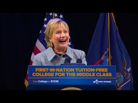 """""""First of Many States"""" - Hillary Clinton's Remarks on Excelsior Scholarship Program"""