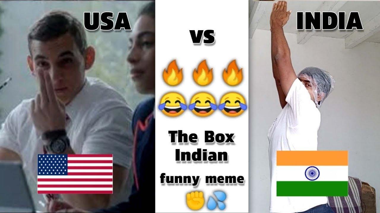 USA vs INDIA | The Box Indian Remix | Bad Boy | meme : Oye Papi Hasle