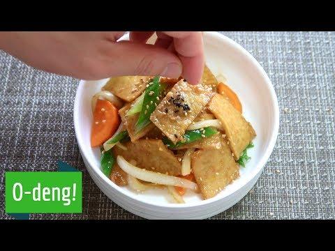 How To Make Stir Fried Fish Cake Banchan (ft. Odeng!)