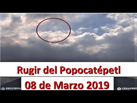 Impresionante Rugir del Popocatépetl 15:26 hrs.