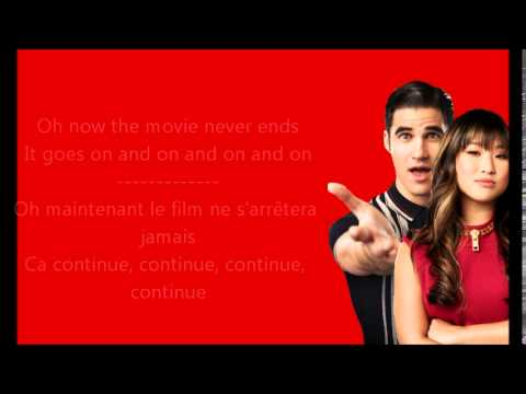 Glee - Don't stop believing (5x13) / Paroles & Traduction